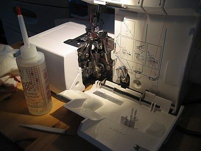 How To Clean A Serger: Brother 1034D