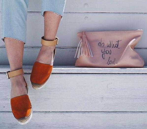 Brand-Store | Sandalet sezonu VOL1: Hasır tabanlı espadril sandalet