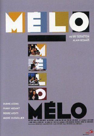 Melo: Amazon.it: Fanny Ardant, Pierre Arditi, Jacques Dacqmine, Sabine Azema, Andre' Dussollier, Alain Resnais: Film e TV