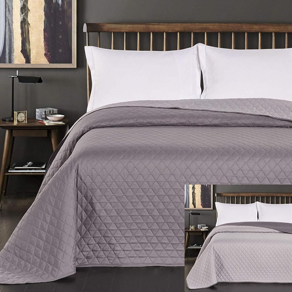 King Size Bed Throws Quilted Bedspread Bed Throw Reversible Double Sided King Size