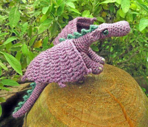 Fierce Little dragon - free pattern link! - CROCHET   Needled Free ...