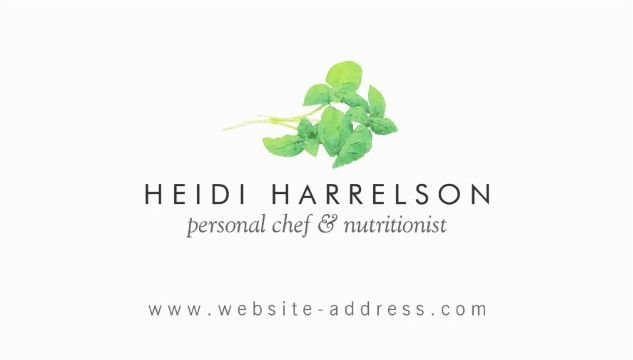 Simply elegant green herbs logo nutritionist business cards http simply elegant green herbs logo nutritionist business cards reheart Gallery