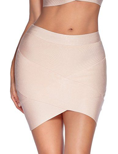 Women's Night Out Skirts - Meilun Womens Rayon Bandage Bodycon Mini Skirt  ** Be sure to check out this awesome product. | Mini skirts, Night out  skirts, Skirts