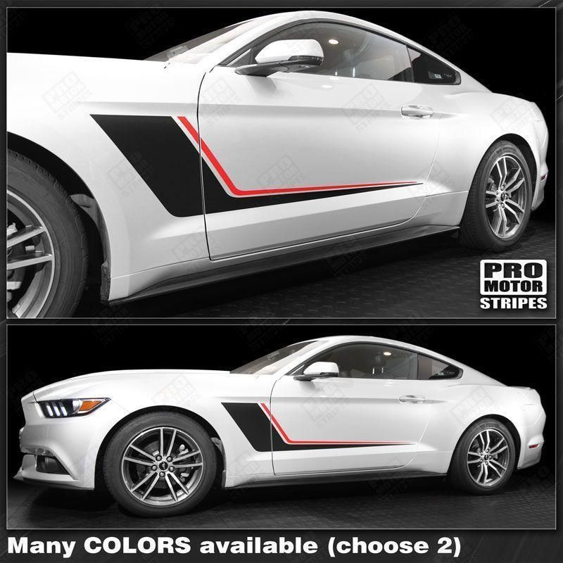 Ford Mustang 2005-2017 Hood Center Accent Stripe Decal Choose Color