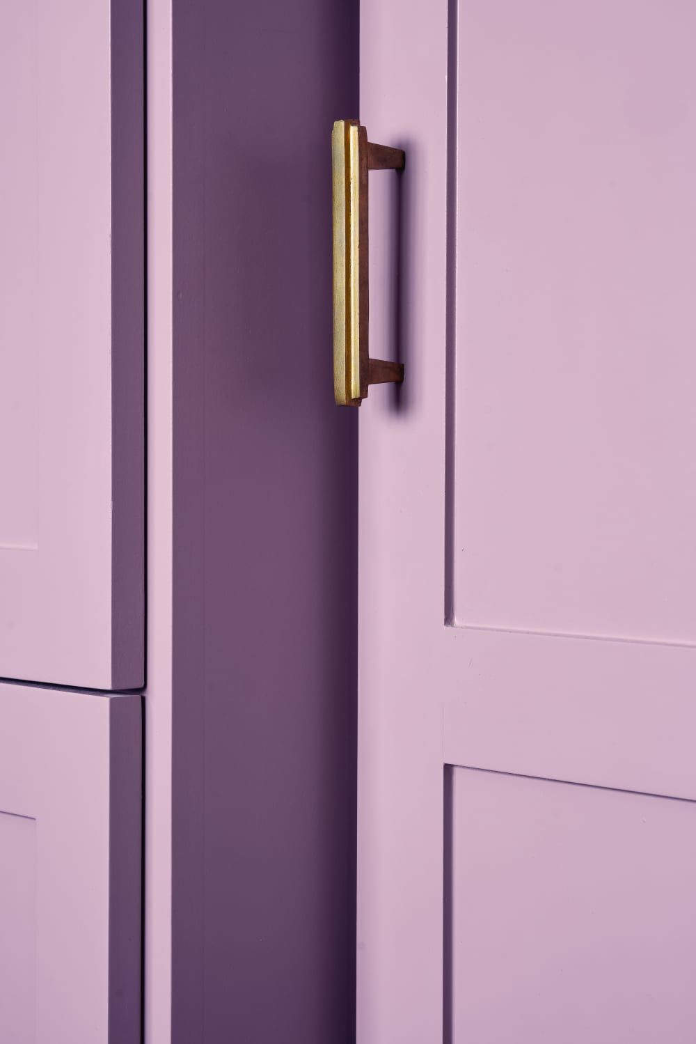 This Austin Remodel Is A Pastel Dream Lilac Walls Remodel Austin Remodel