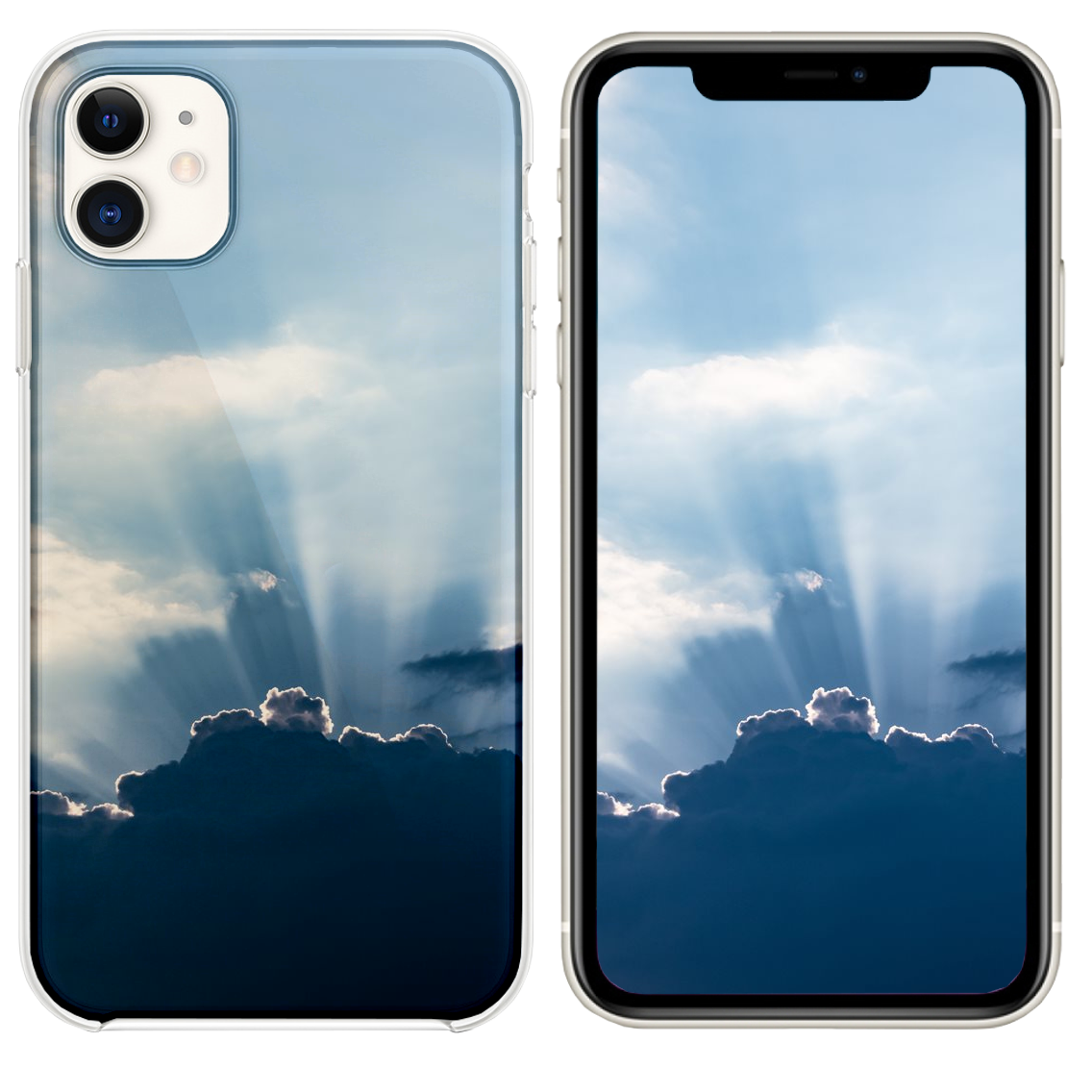Sun Behind The Clouds Iphone 11 Case Iphone 11 Iphone Clouds