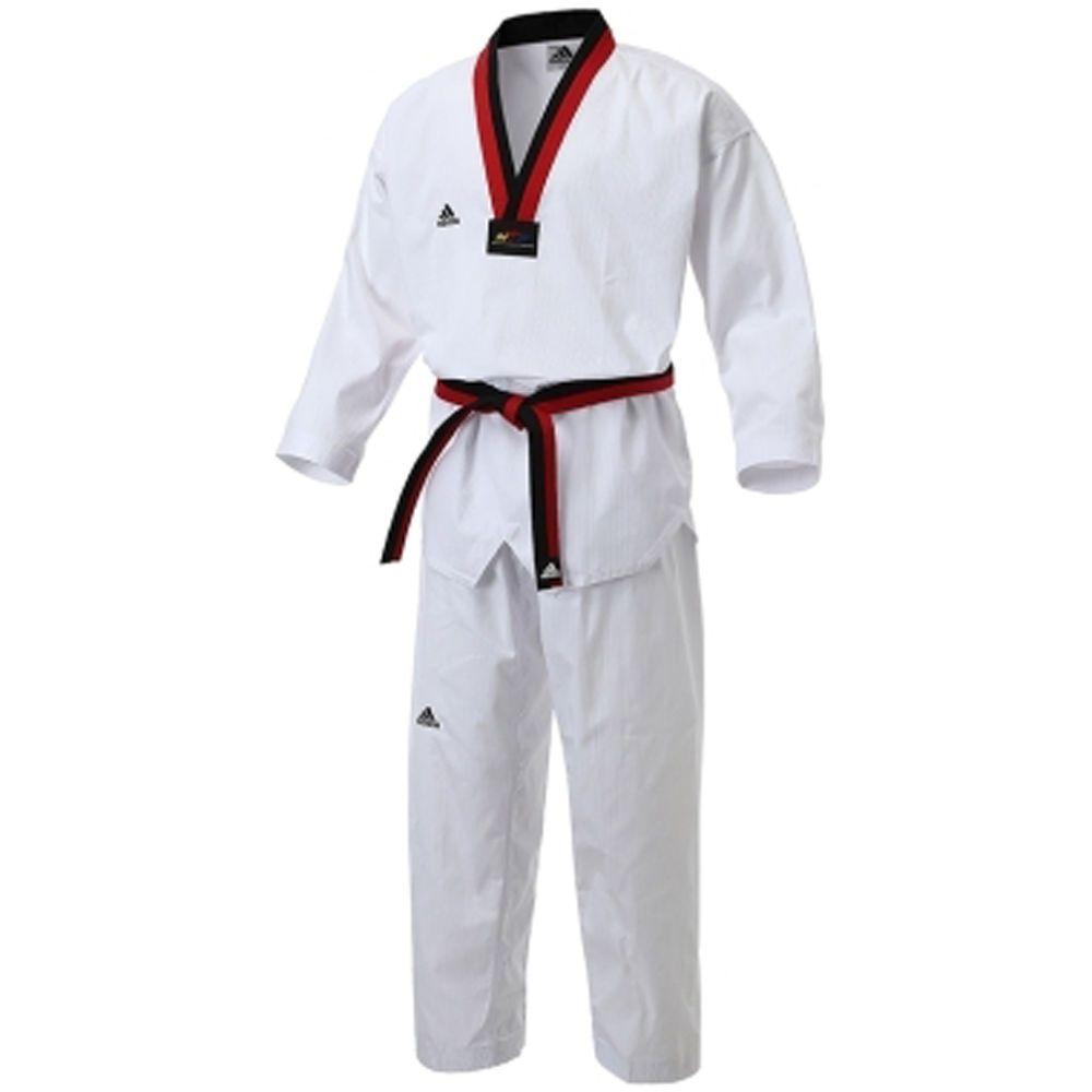Adidas NEW ADI Champion 2 POOM Taekwondo Uniform Martial Arts Embroidery Print