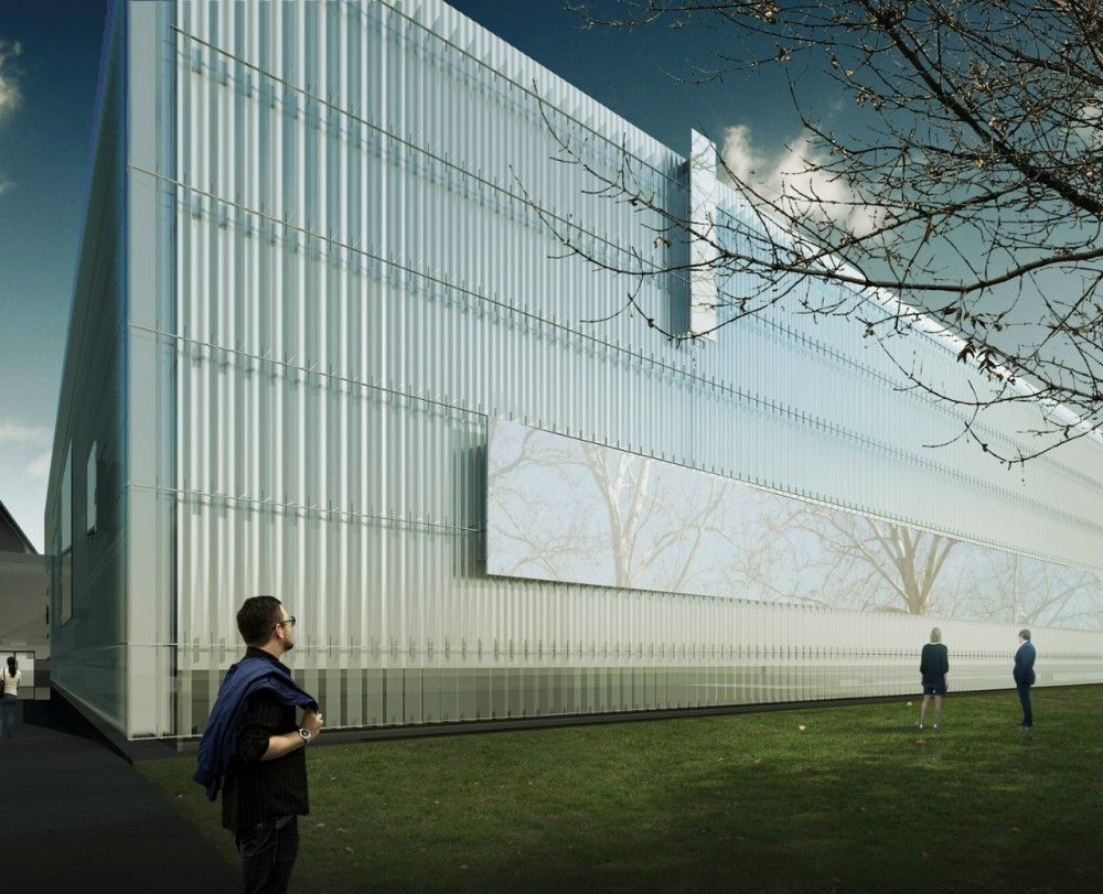 Gallery Of Thomas Phifer And Partners Unveils Design For Corning Museum Of Glass 5 Corning Museum Of Glass Glass Museum Glass Art Projects