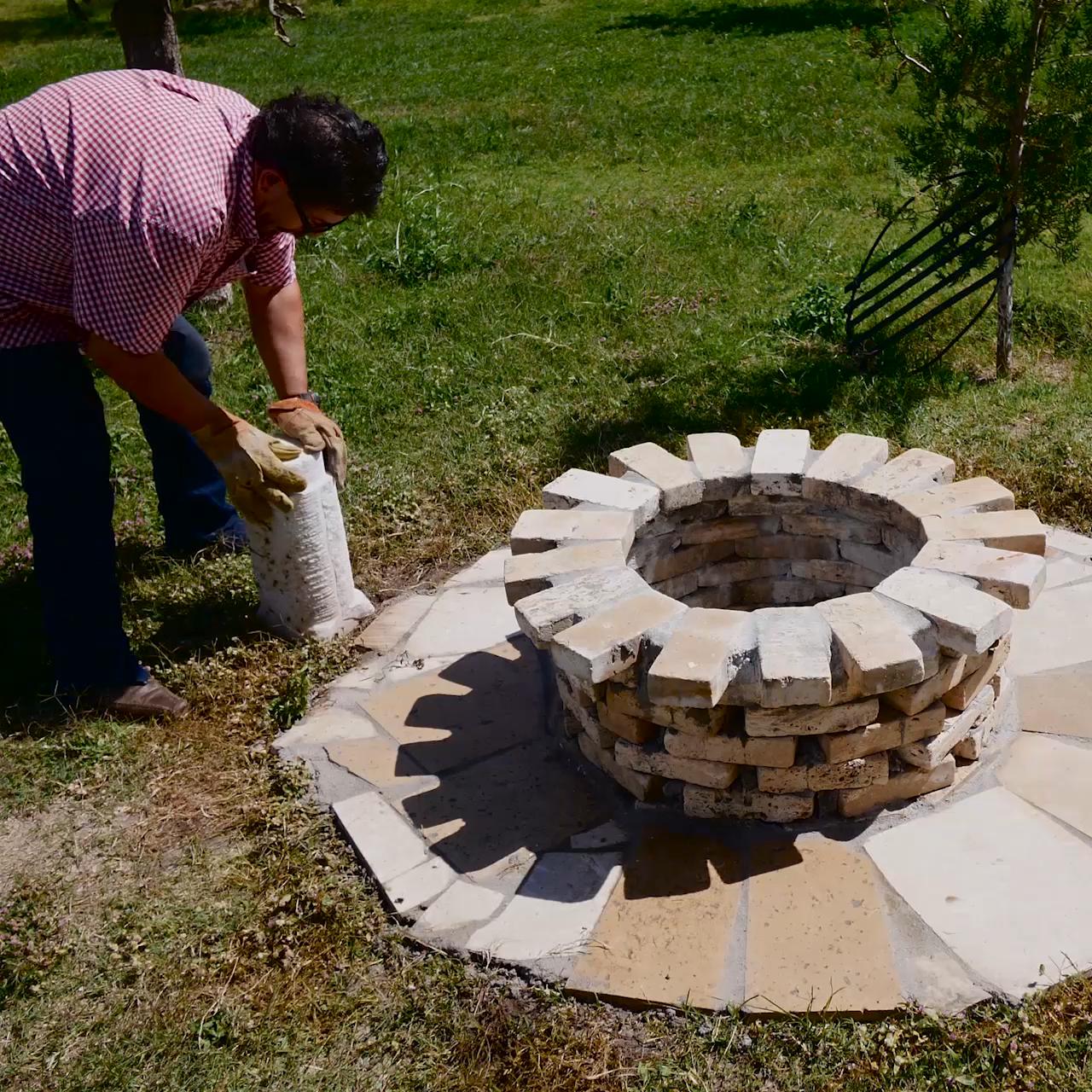 Cómo hacer un fogatero y asador para tu patio