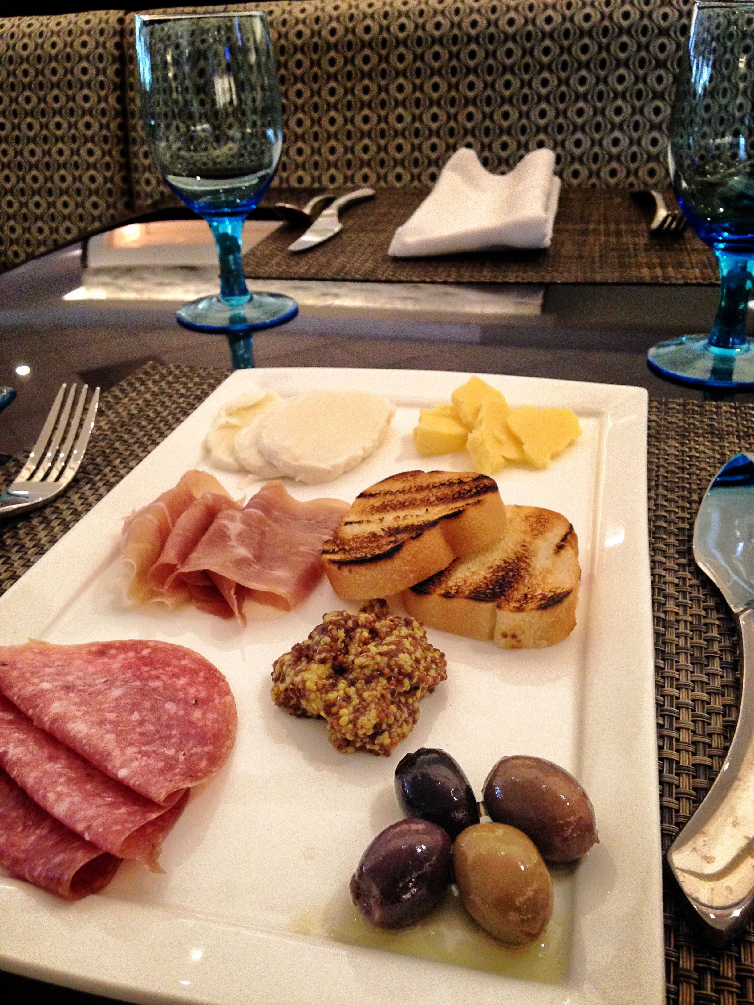 Cheese And Charcuterie Platter From Floe Lounge In The Irvine