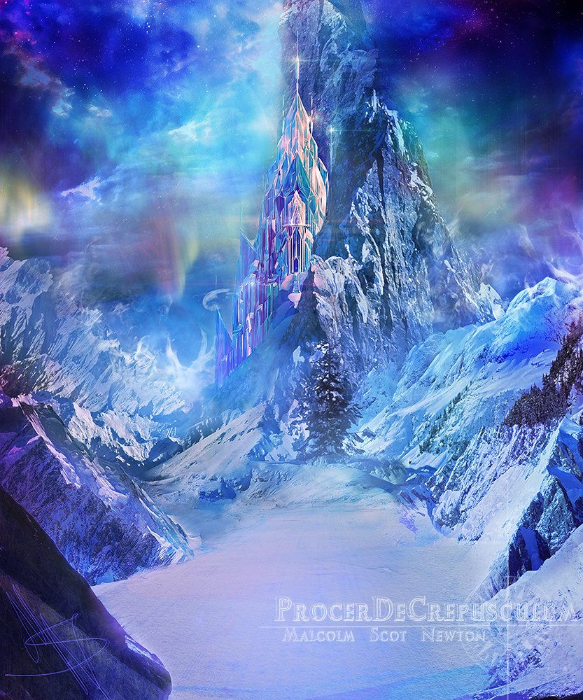 Frozen palace background  ArtStation  Frozen  Frigid Fulfillment  Malcolm Newton  Frozen