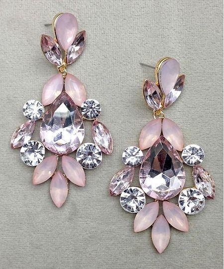 Pico Pink Earrings Earring Jewellery Accessories Women Fashion