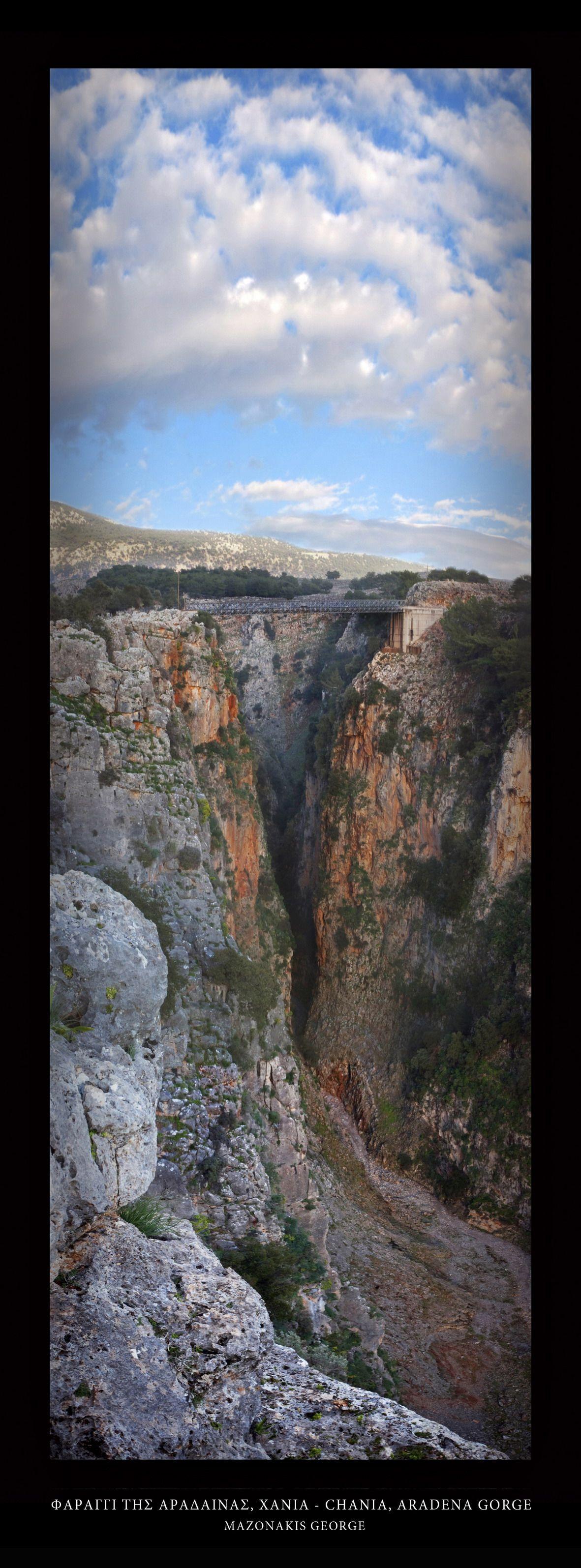 Chania, Aradena gorge