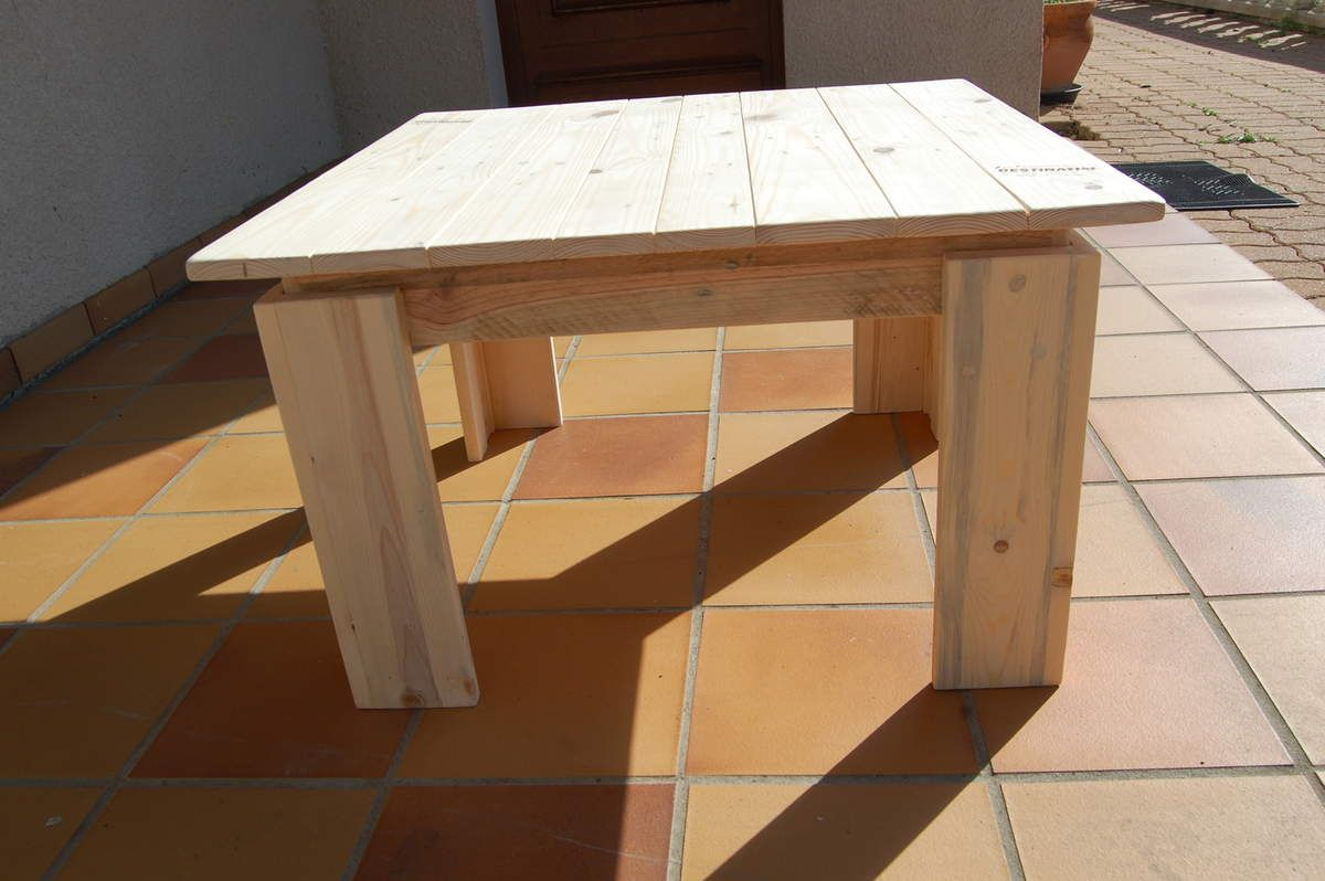 Table De Salon En Bois De Palette les tables de salon en bois de palette | meubles en bois de palette