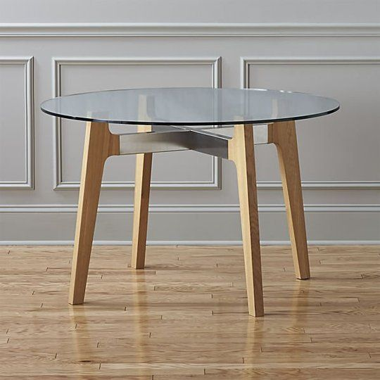 Round Glass Dining Table Ikea: Modern Round Dining Tables: West Elm, IKEA And More