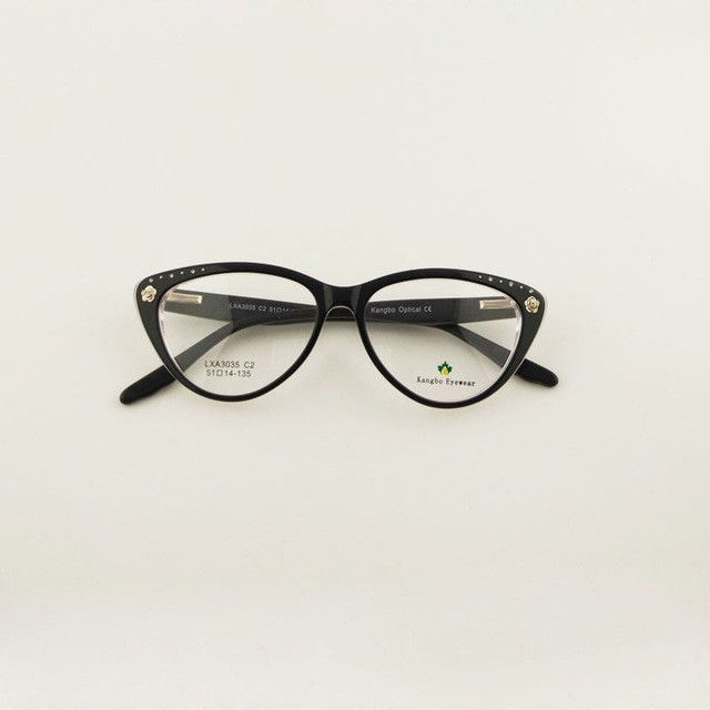 High quality Cat eyes glasses frame for Ladies acetate optical ...