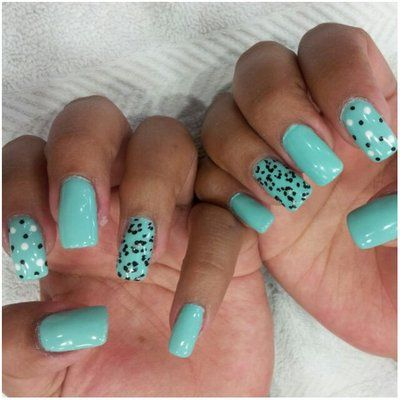 Hard gel nails w/ designs   Nail Designs   Pinterest   Photos ...