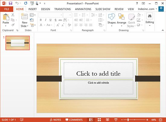 how to add a theme to powerpoint