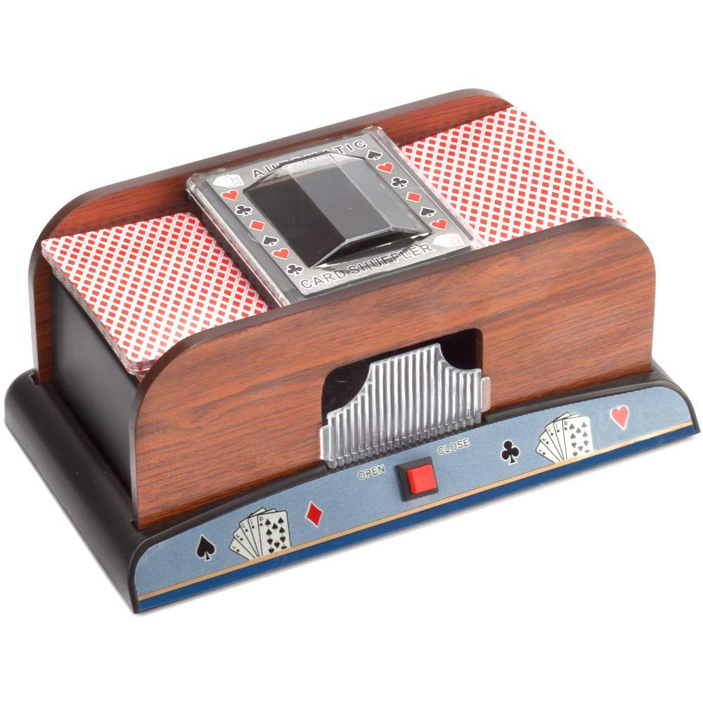 Casino Automatic Card Shuffler For Poker Games 2 Deck 4 Deck 6 Deck Visit The Image Link More Details This Is An Affiliate Poker Games Game Room Games