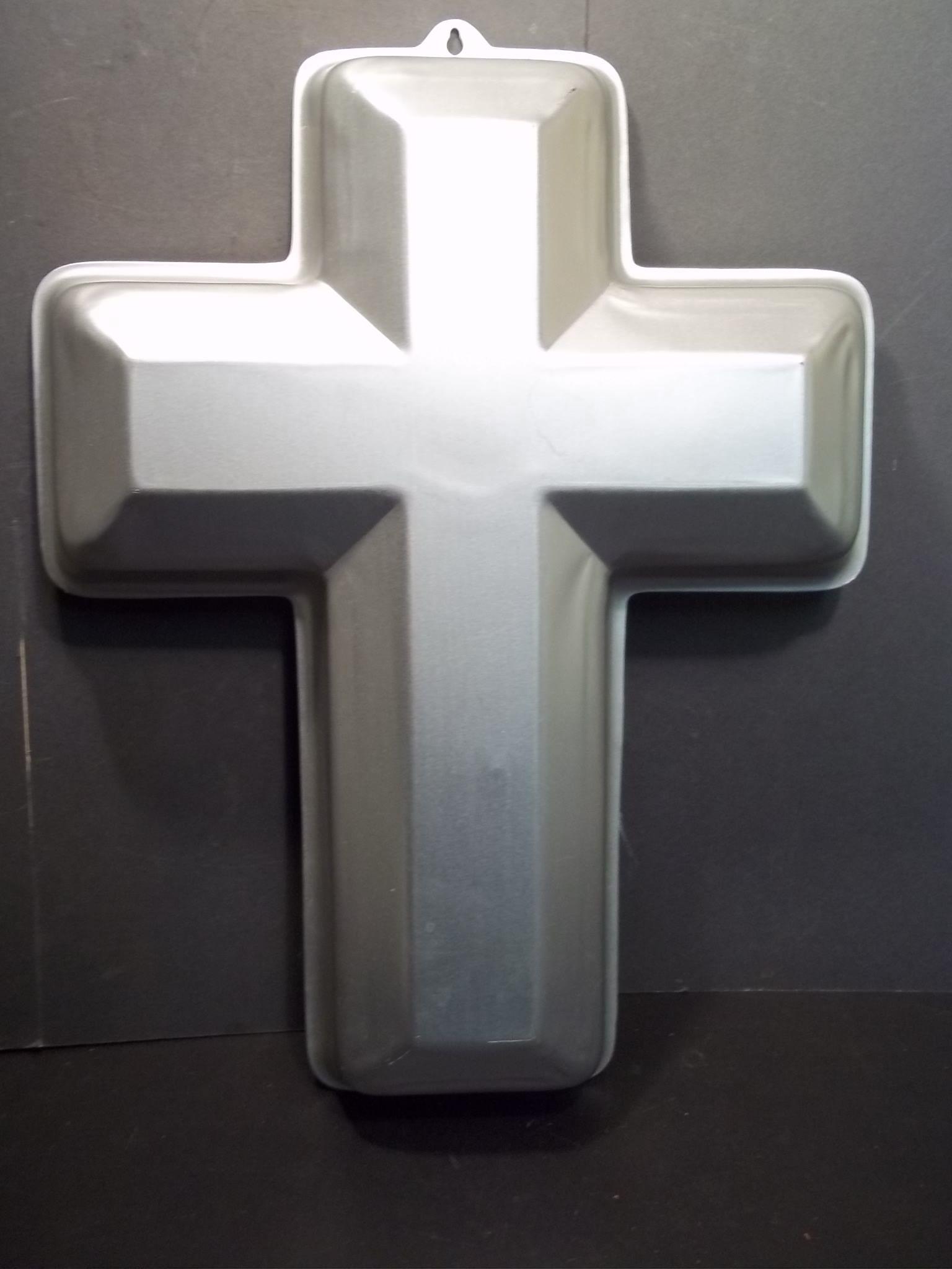 Wilton Large Religious Easter Cross Shape Cake Pan