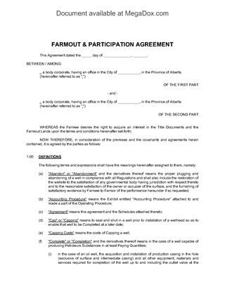 and resources forms legal business templates megadox participation - business agreement sample