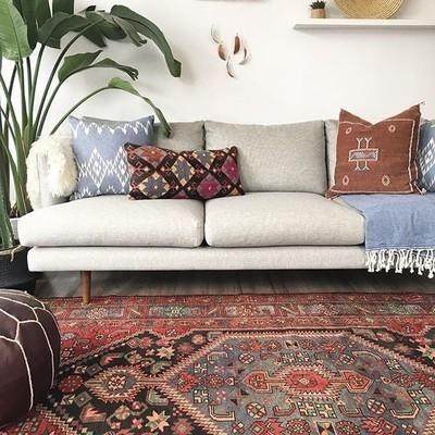 Burrard seasalt gray sofa