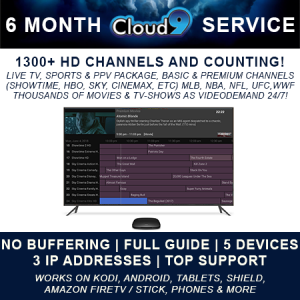 Products Cloud9 TV Cinemax, Live tv, Hbo