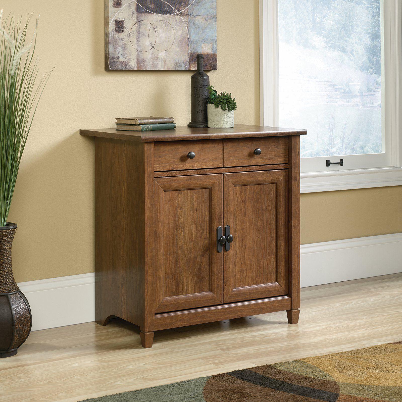 Sauder Edge Water Decorative Chest Rustic Storage Cabinets Utility Storage Cabinet Kitchen Cabinet Storage