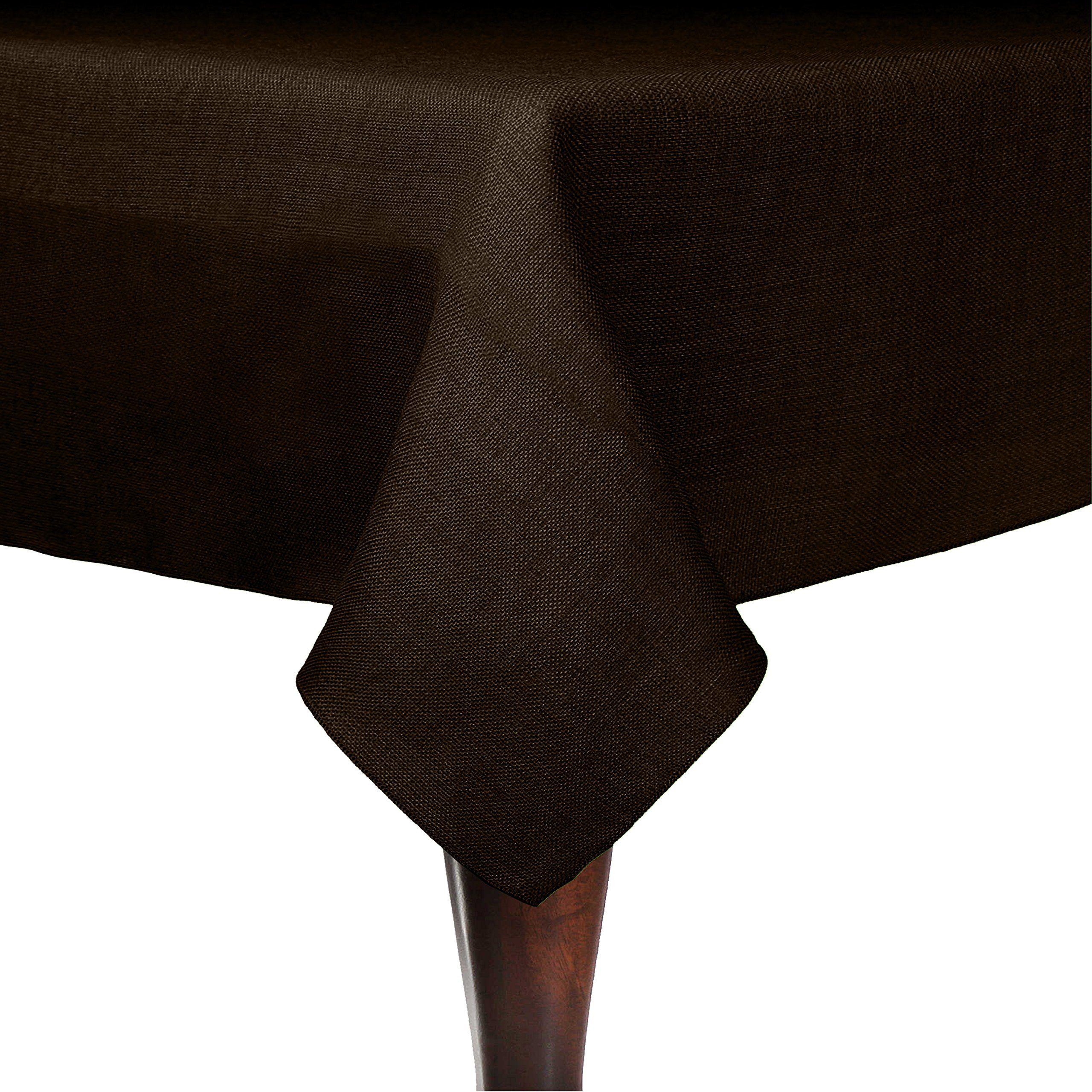 Ultimate Textile (10 Pack) Faux Burlap   Havana 70 X 70 Inch Square