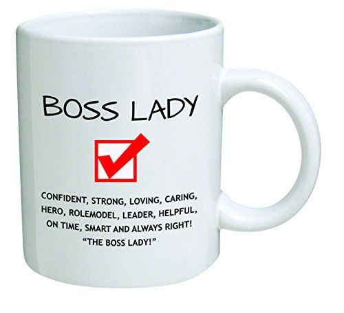 Funny Boss Lady 11OZ Coffee Mug Novelty, Office, Job | The Gift Central