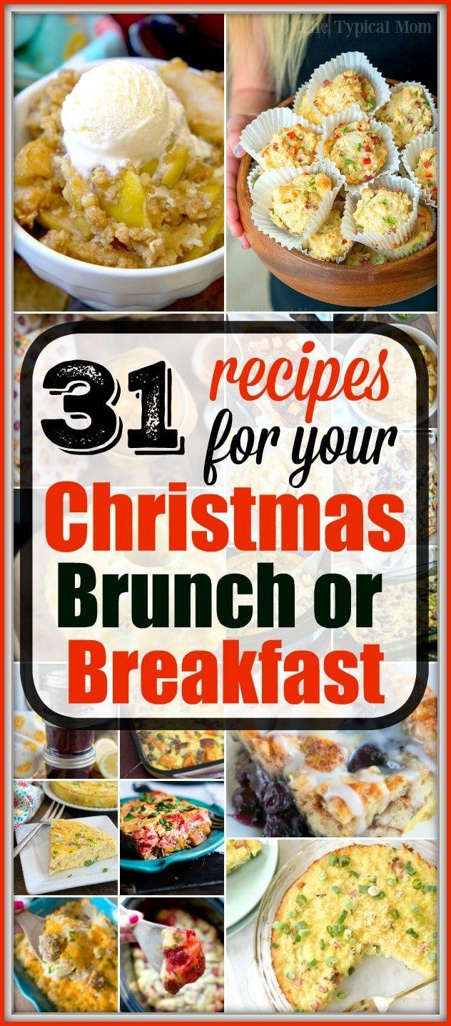 Best Christmas Brunch Menu Items