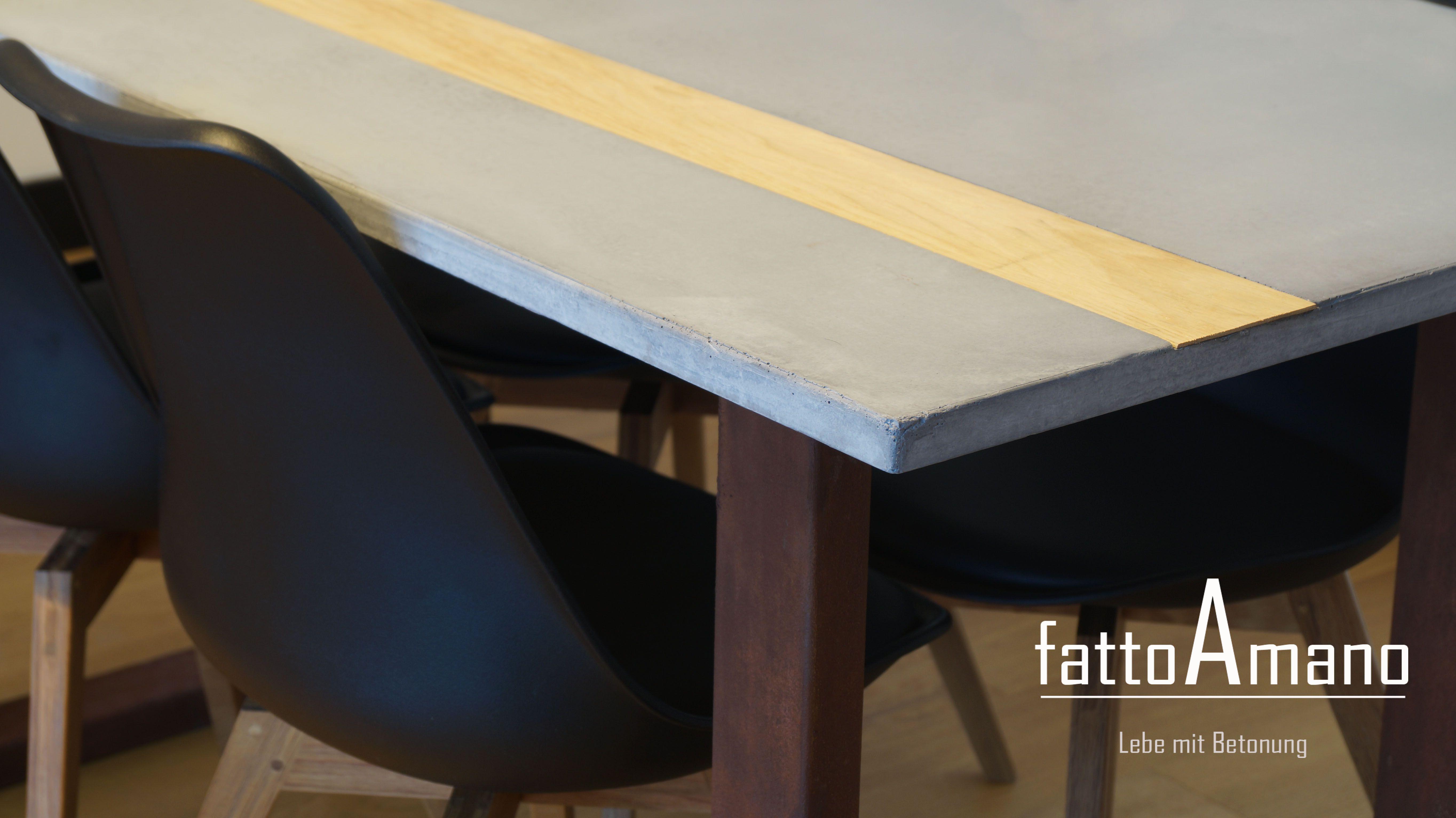 Tisch Modern Design beton tisch möbel design flusso by fattoamano lebemitbetonung de
