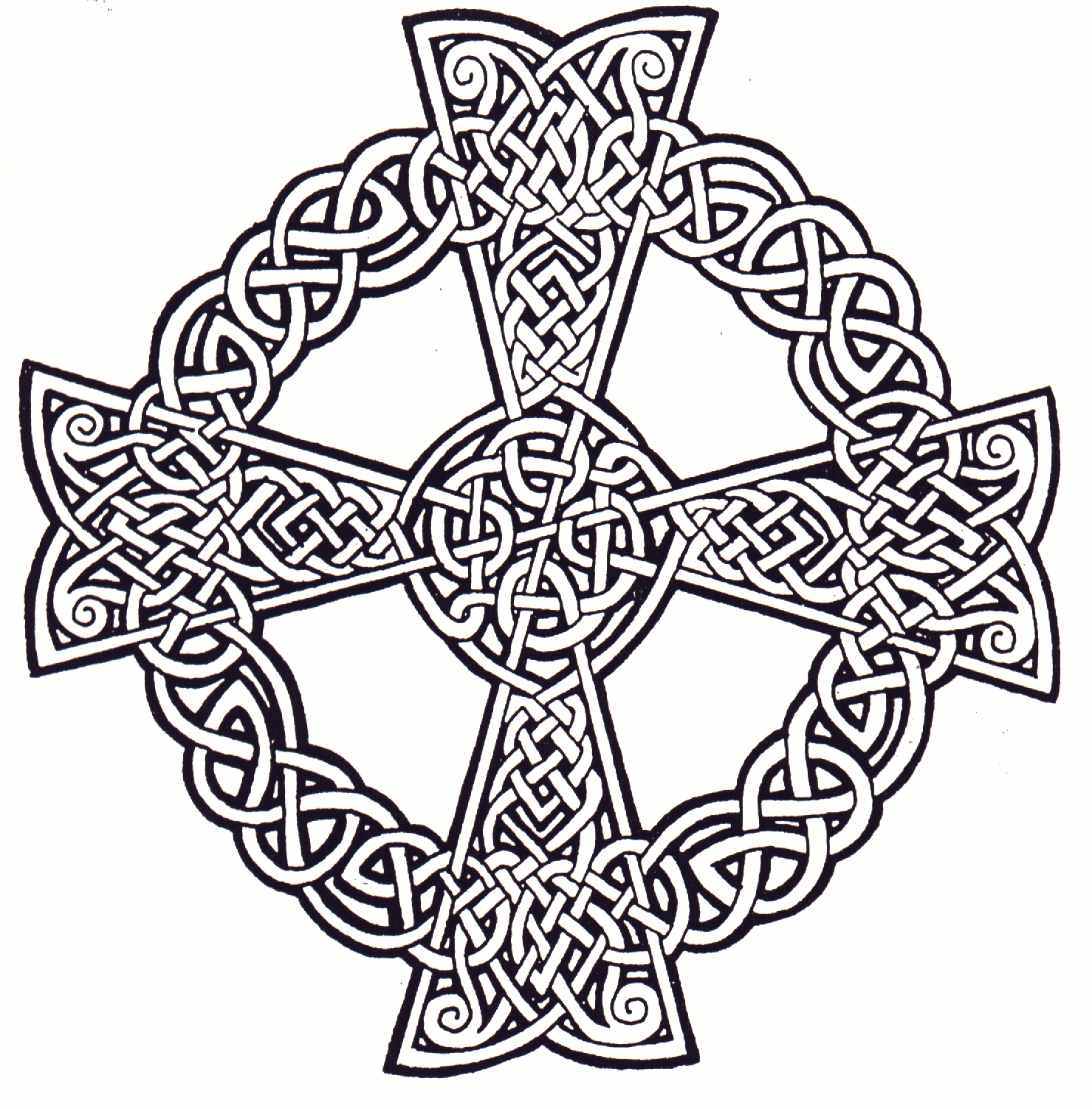 Celtic Mandala Coloring Pages | The following zoom view illustrates ...