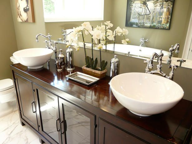 Bathroom Sinks and Vanities: Beautiful Ideas From Rate My Space : Rooms : Home & Garden Television