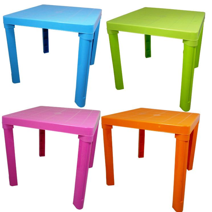 Toddler Table And Chair Sets Kids Children Plastic Colours Home ...