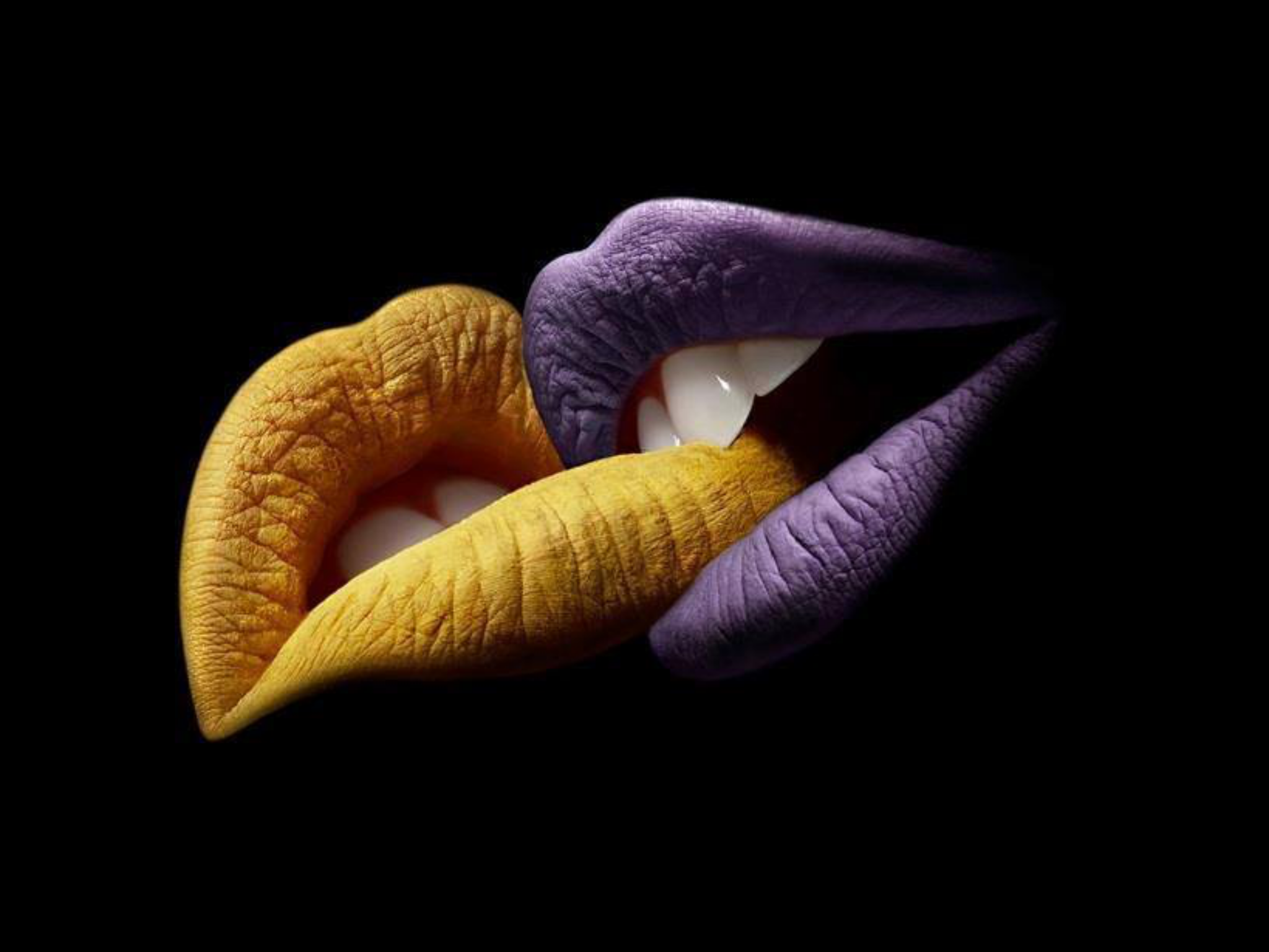 Art with lips.... Kunst ist frei.... enjoy the art with lips blessings... and rock your freedom
