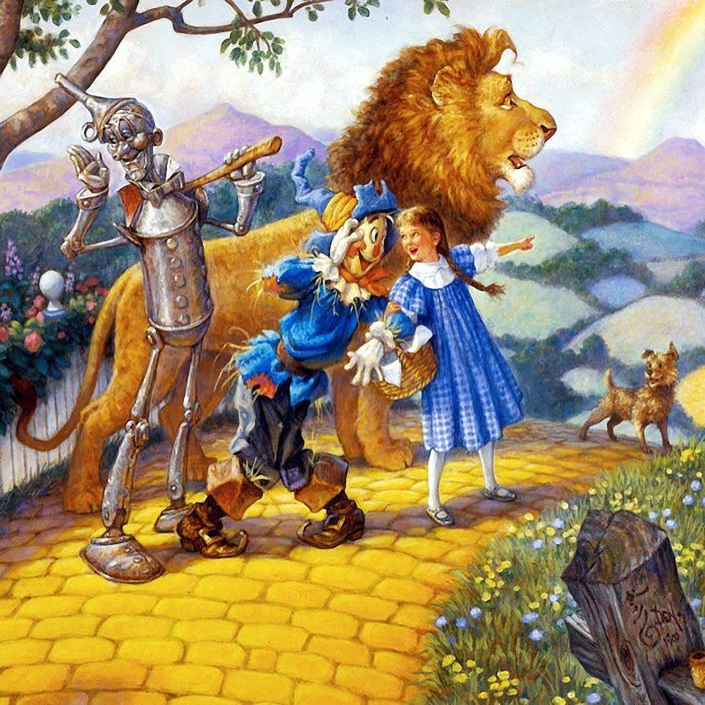 картинка львенка волшебник изумрудного города все, благодаря