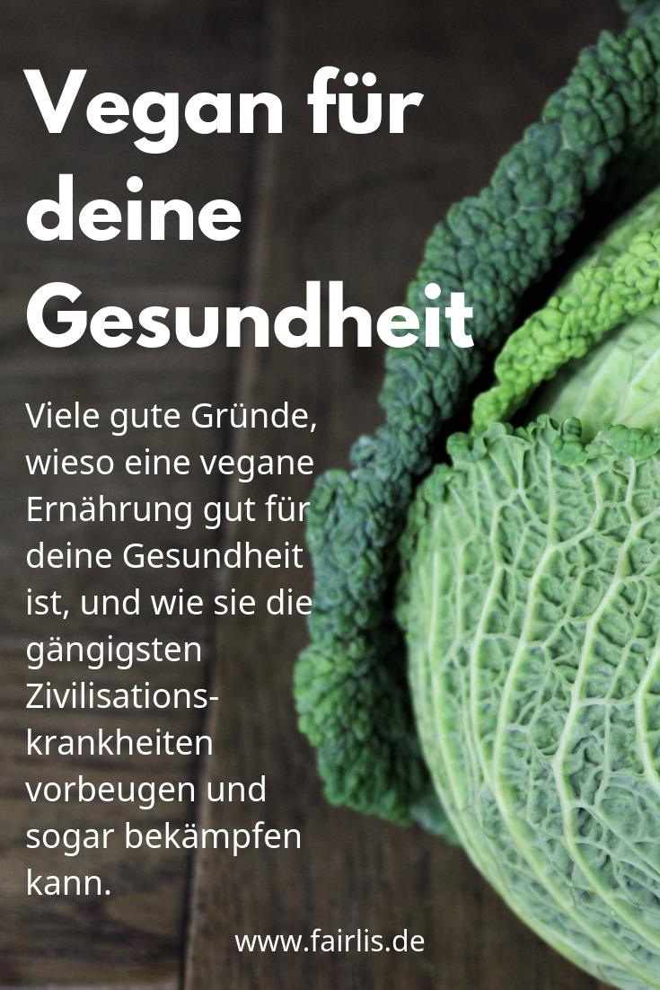 Vegetarische Ernährung gut für die Gesundheit
