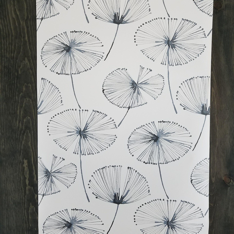Aya Palm Leaf Botanical WallPops Peel and Stick Wallpaper