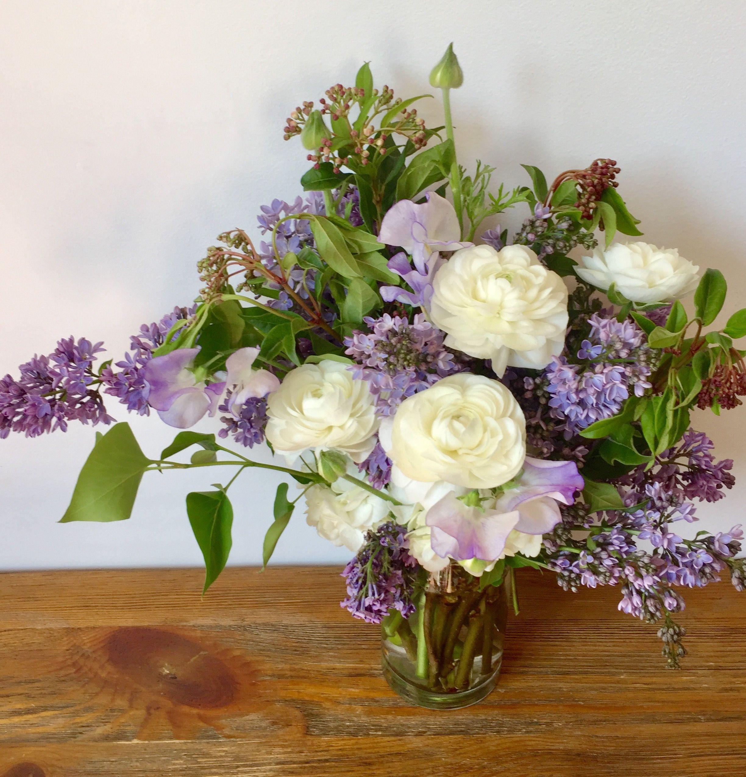 Lilac Ranunculus Buket