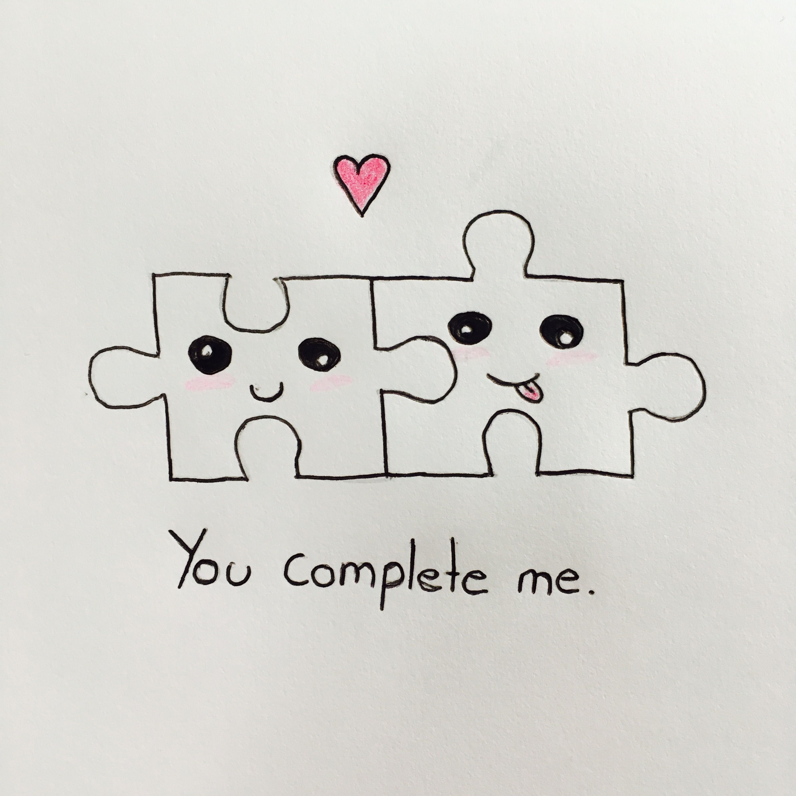 Puzzle Pieces Drawing Dessin Amoureux Dessin Art Dessin