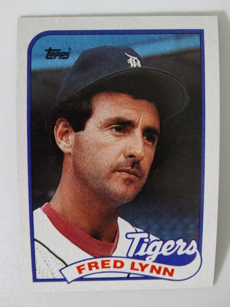 Details About 1989 Topps Dwayne Murphy Detroit Tigers Wrong