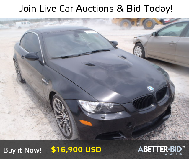 Salvage 2011 BMW M3 For Sale
