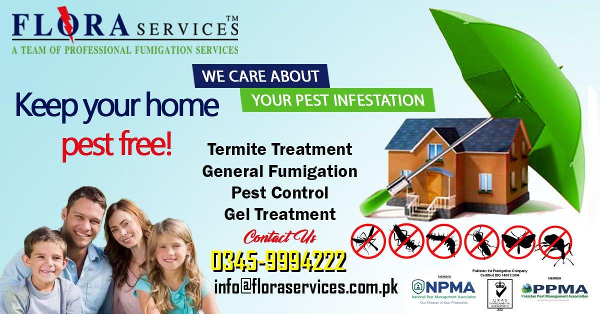 FLORA SERVICES Fumigation Services in Karachi