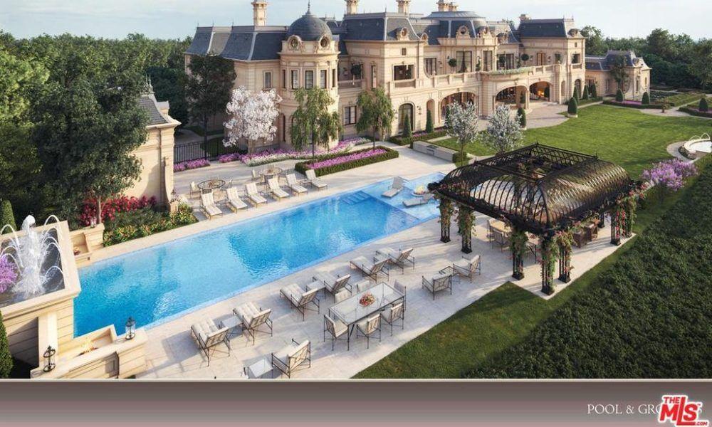 Beverly Hills Mega Mansion Design Proposal In Beverly Park On A 32 Million Lot Floor Plans Luxury Architecture Mansion Designs Beverly Park Mansions