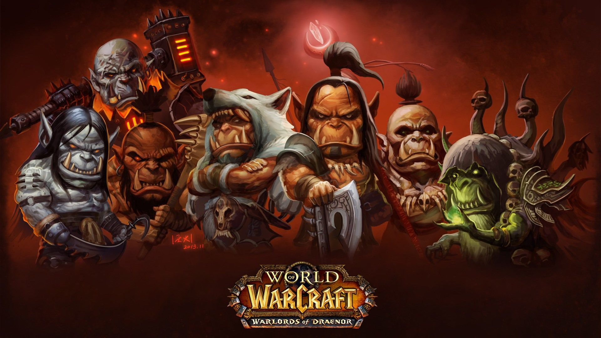 1920x1080 World Of Warcraft Warlords Of Draenor Game