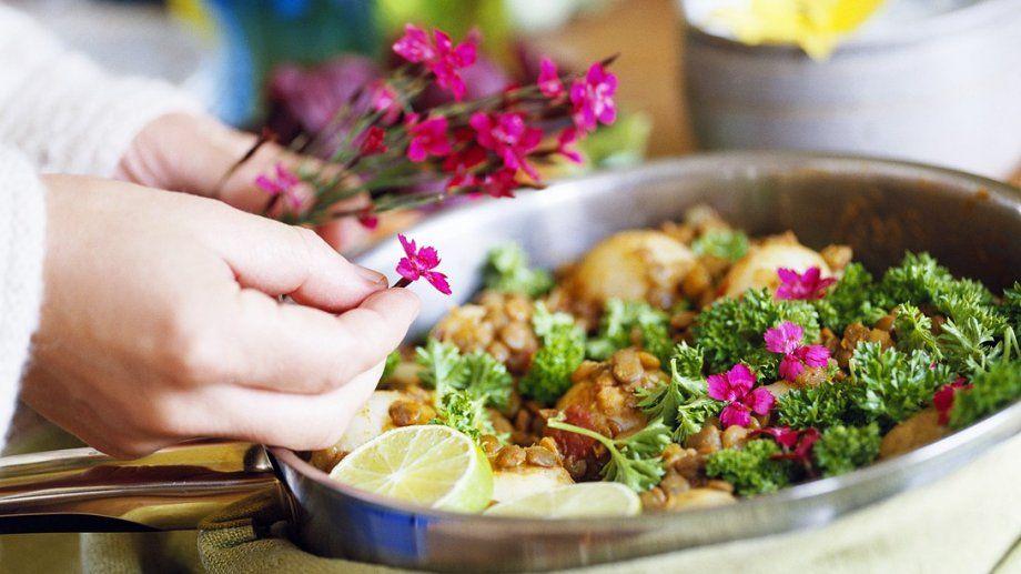 Linsen-Gemüse-Curry