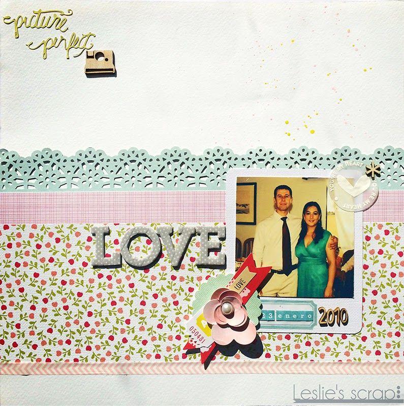 """Layout """"Love"""" - Por Leslie"""