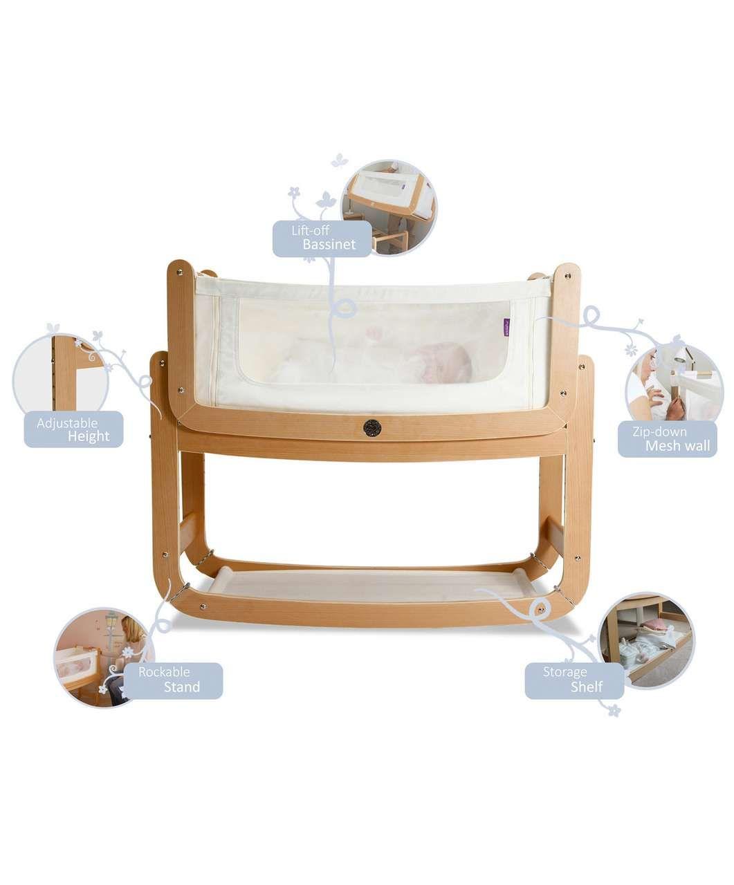 Baby cribs dublin - Snuzpod Bedside Crib Nursery Furniture Mamas Papas