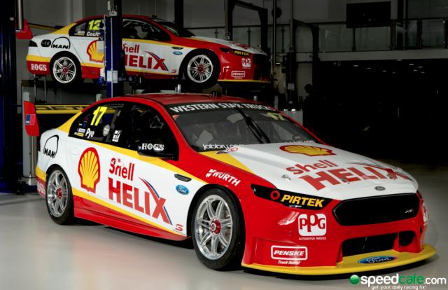 Two Car Shell Sponsorship For Djr Team Penske Car Australian Cars Super Cars